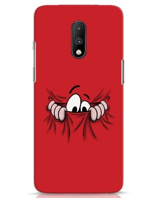 Shop Peek Out OnePlus 7 Mobile Cover-Front