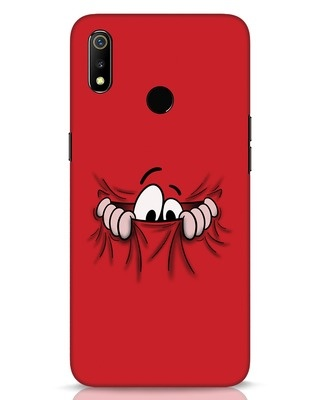 Shop Peek Out Realme 3 Mobile Cover-Front