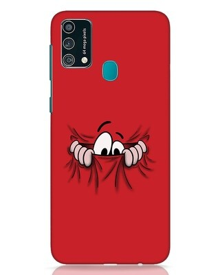 Shop Peek Out Samsung Galaxy F41 Mobile Cover-Front
