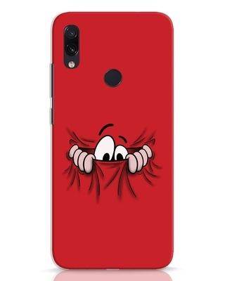 Shop Peek Out Xiaomi Redmi Note 7 Pro Mobile Cover-Front