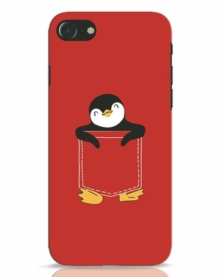 Shop Penguin Hug iPhone 7 Mobile Cover-Front
