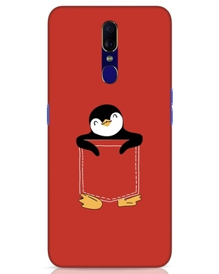Shop Penguin Hug Oppo F11 Mobile Cover-Front