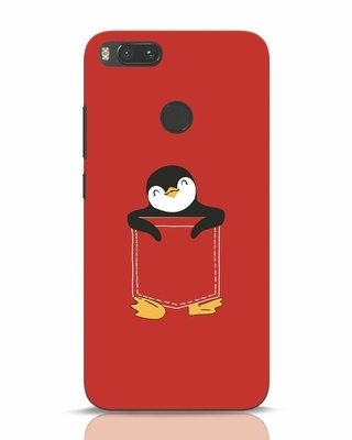 Shop Penguin Hug Xiaomi Mi A1 Mobile Cover-Front