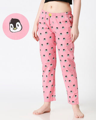 Shop Penguin Women's Pyjama-Front