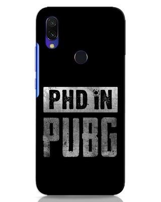 Shop Phd In Pubg Xiaomi Redmi 7 Mobile Cover-Front