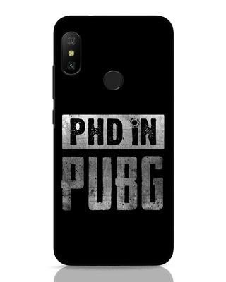 Shop Phd In Pubg Xiaomi Redmi Note 6 Pro Mobile Cover-Front
