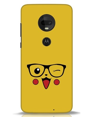 Shop Pika Moto G7 Mobile Cover-Front