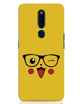 Shop Pika Oppo F11 Pro Mobile Cover-Front