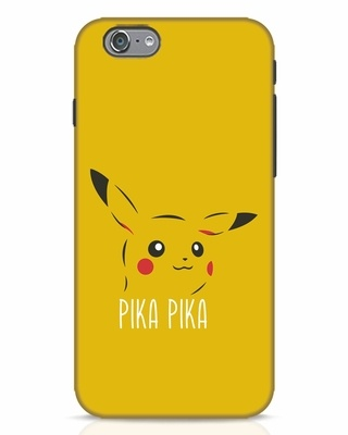 Shop Pika Pika iPhone 6s Mobile Cover-Front