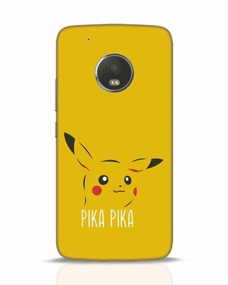Shop Pika Pika Moto G5 Plus Mobile Cover-Front