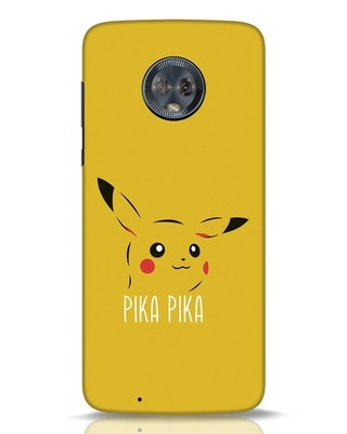 Shop Pika Pika Moto G6 Mobile Cover-Front