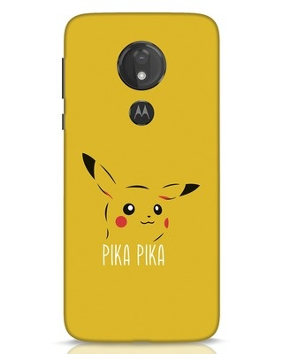 Shop Pika Pika Moto G7 Power Mobile Cover-Front