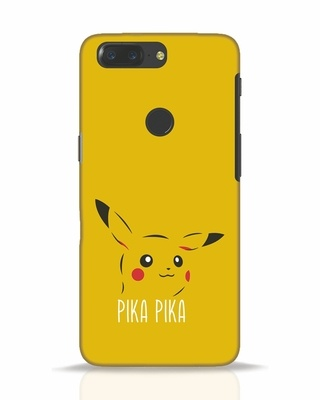 Shop Pika Pika OnePlus 5T Mobile Cover-Front