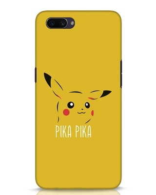 Shop Pika Pika Oppo A3S Mobile Cover-Front