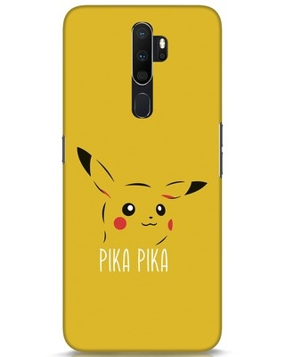 Shop Pika Pika Oppo A5 2020 Mobile Cover-Front