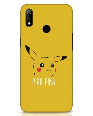 Shop Pika Pika Realme 3 Mobile Cover-Front