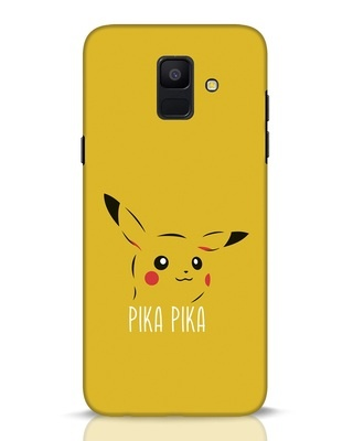 Shop Pika Pika Samsung Galaxy A6 2018 Mobile Cover-Front
