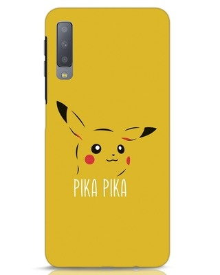 Shop Pika Pika Samsung Galaxy A7 Mobile Cover-Front