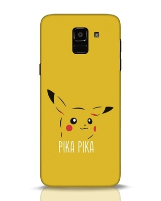 Shop Pika Pika Samsung Galaxy J6 Mobile Cover-Front