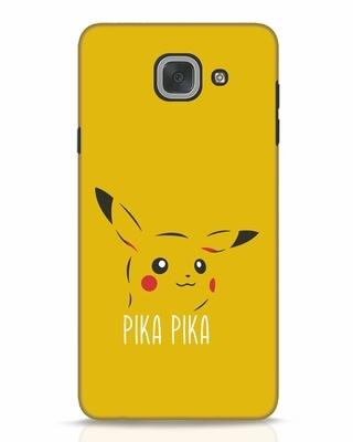 Shop Pika Pika Samsung Galaxy J7 Max Mobile Cover-Front