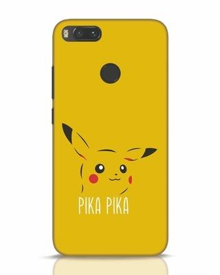Shop Pika Pika Xiaomi Mi A1 Mobile Cover-Front