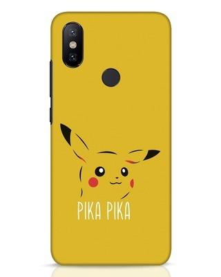 Shop Pika Pika Xiaomi Mi A2 Mobile Cover-Front