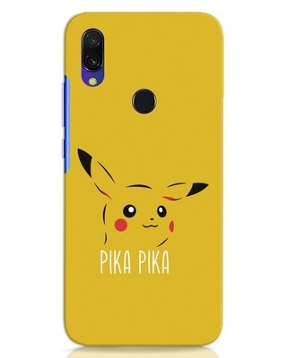 Shop Pika Pika Xiaomi Redmi 7 Mobile Cover-Front