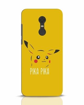 Shop Pika Pika Xiaomi Redmi Note 5 Mobile Cover-Front