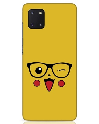 Shop Pika Samsung Galaxy Note 10 Lite Mobile Cover-Front