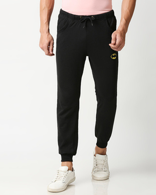 Shop Batman Badge Jogger Pants-Front