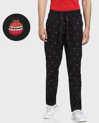 Shop Men's Printed Ethnic Pants-Front
