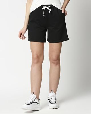 Shop Women's Roll Up Hem Shorts-Front