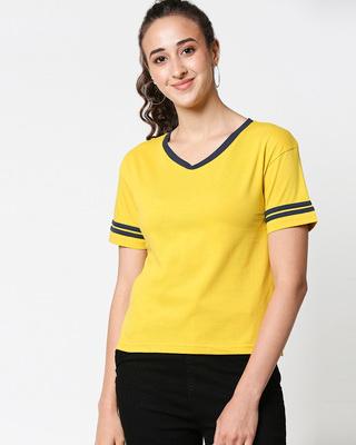 Shop Women's V-Neck T-Shirt-Front