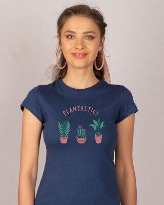 Shop Plantastic Half Sleeve T-Shirt-Front