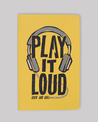 Shop Play It Loud Notebook-Front