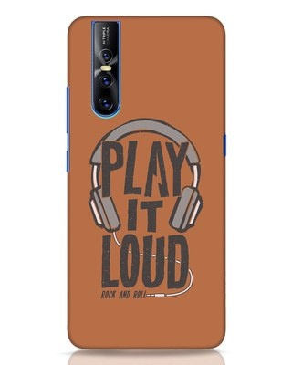 Shop Play It Loud Vivo V15 Pro Mobile Cover-Front