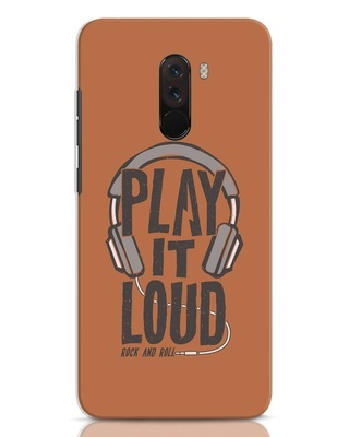 Shop Play It Loud Xiaomi POCO F1 Mobile Cover-Front