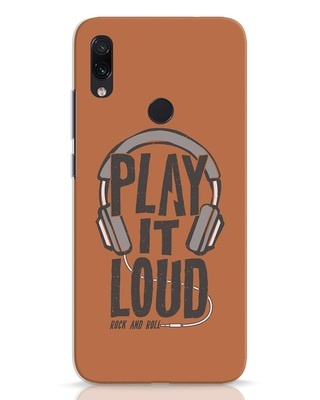 Shop Play It Loud Xiaomi Redmi Note 7 Mobile Cover-Front