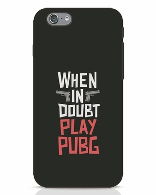 Shop Play Pubg iPhone 6 Mobile Cover-Front