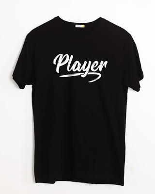 Buy Player Typography Half Sleeve T-Shirt Online India @ Bewakoof.com
