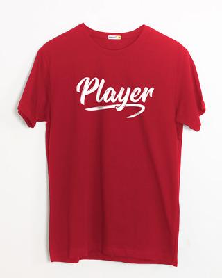 Buy Player Typography Half Sleeve T-Shirt Online India @ Bewakoof.com
