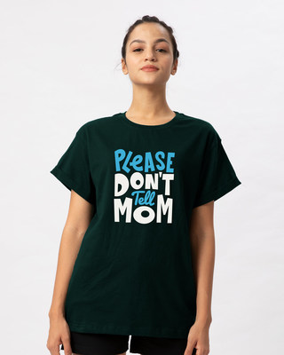 Shop Please Don't Tell Mom Boyfriend T-Shirt-Front
