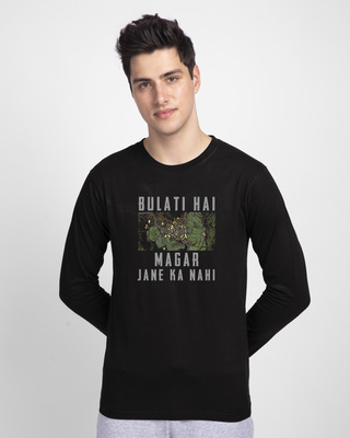 Shop Pochinki Bulati Hai Full Sleeve T-Shirt-Front
