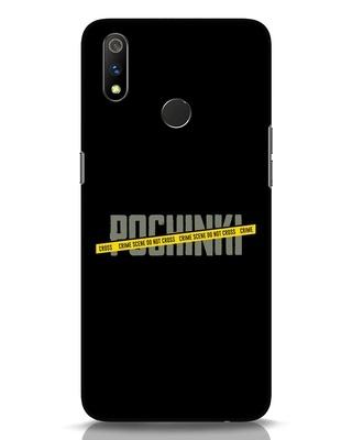 Shop Pochinki Crime Scene Realme 3 Pro Mobile Cover-Front