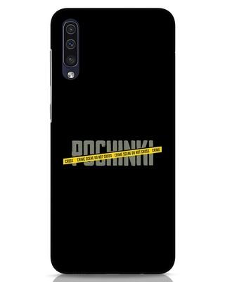 Shop Pochinki Crime Scene Samsung Galaxy A50 Mobile Cover-Front