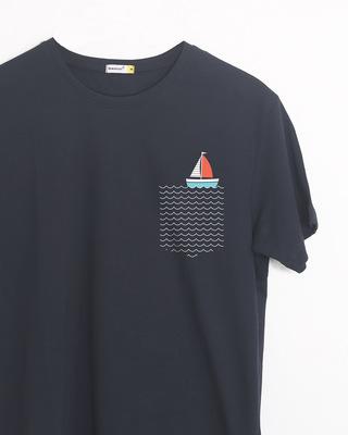 Buy Pocket Sailling Half Sleeve T-Shirt Online India @ Bewakoof.com