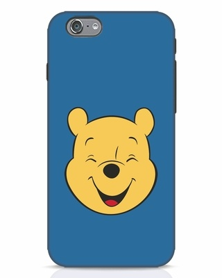 Shop Pooh Face iPhone 6 Mobile Cover-Front