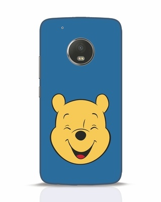 Shop Pooh Face Moto G5 Plus Mobile Cover-Front