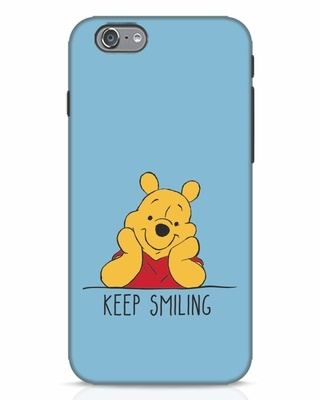Shop Pooh Keep Smiling iPhone 6 Mobile Cover-Front