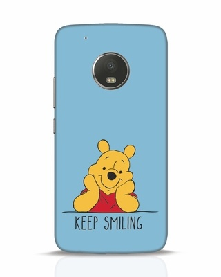 Shop Pooh Keep Smiling Moto G5 Plus Mobile Cover-Front